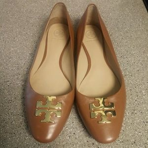 Tory Burch Shoes - Tory burch cognac flats!